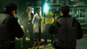 Isabela, Frank i Chuck zatrzymani przez ochronę