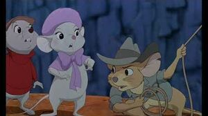 The Rescuers Down Under (1990 movie clip) Marahuté gets caught