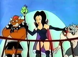 Dark Queen & her Staff