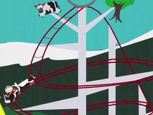 The Tornado Twister Roller Coaster
