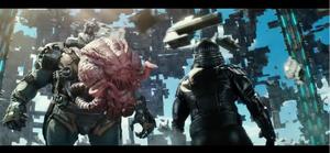 Krang betrays the Shredder