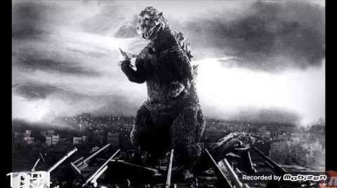 Godzilla 1954 Roars