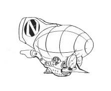 Dr. Cortex's Airship
