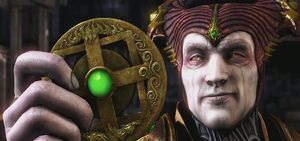 Shinnok Evil Grin