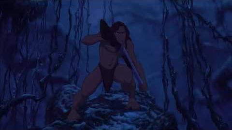 Tarzan vs Clayton Clayton's death HD