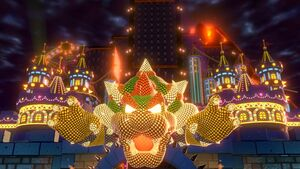The World Bowser's Castle Park