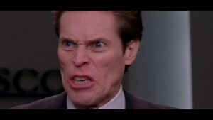 Norman Osborn Angry