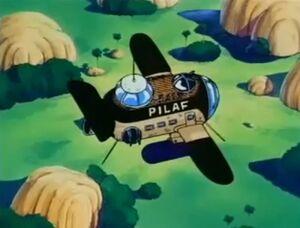Pilaf's Airship