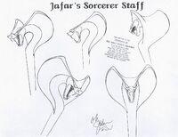 Jafar's Sorcerer Staff
