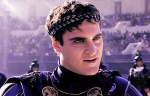 Commodus' Evil Grin
