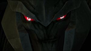 Prime Megatron grin Evilly