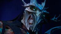 Shredder evil grin