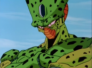 Imperfect Cell chuckle evilly