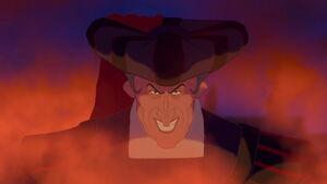 Frollo's Sadistic Grin