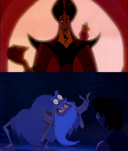 Jafar as an old man