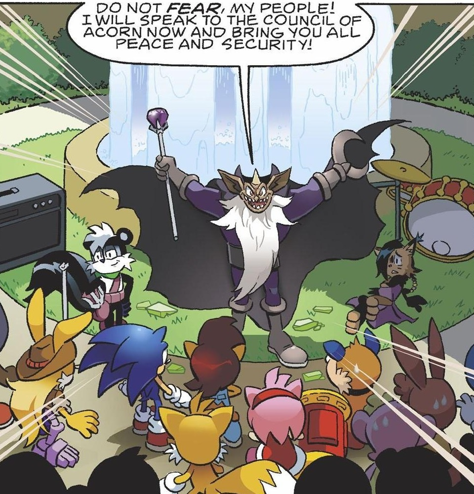 Image result for archie sonic ixis naugus