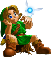Young Link Navi