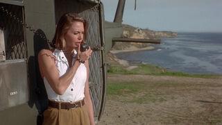 Michelle Rodham Huddleston (played by Brenda Bakke) Hot Shots 2 97