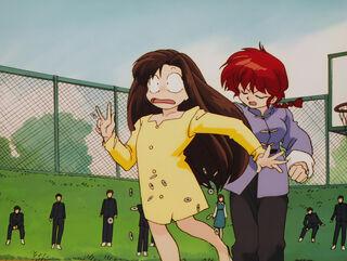 Hinako Ninomiya (voiced by Yumi Touma) Ranma 1-2 Oav 04 58