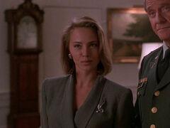 Michelle Rodham Huddleston (played by Brenda Bakke) Hot Shots 2 03