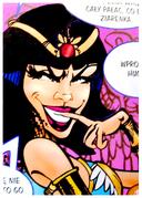 Egyptian queen Scylla