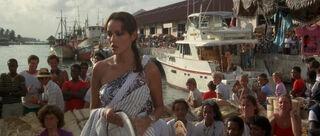 Fatima Blush (played by Barbara Carrera) Never Say Never Again 120-0