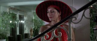 Fatima Blush (played by Barbara Carrera) Never Say Never Again 130-0