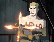 Nazi Woman Super Villain Bruno Batman DC Comics