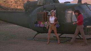 Michelle Rodham Huddleston (played by Brenda Bakke) Hot Shots 2 76