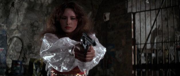 Fatima Blush (played by Barbara Carrera) Never Say Never Again 257