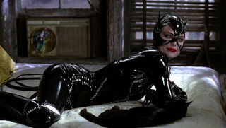 Selina Kyle-Catwoman (played by Michelle Pfeiffer) Batman Returns 83