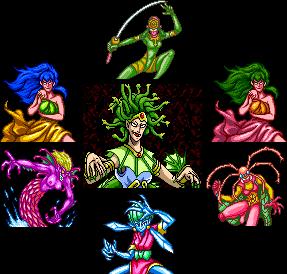 Enemies - Tengai Makyou II