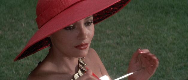 Fatima Blush (played by Barbara Carrera) Never Say Never Again 136-0