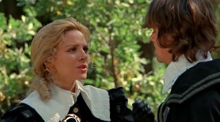 Justine de Winter (played by Kim Cattrall) The Return of the Musketeers 339