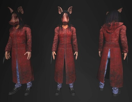 Dead by daylight saw dlc amanda young the pig 1