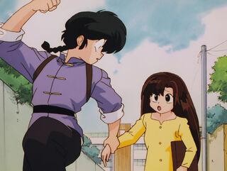 Hinako Ninomiya (voiced by Yumi Touma) Ranma 1-2 Oav 04 22