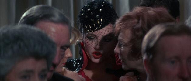 Fatima Blush (played by Barbara Carrera) Never Say Never Again 98-0