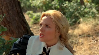 Justine de Winter (played by Kim Cattrall) The Return of the Musketeers 53