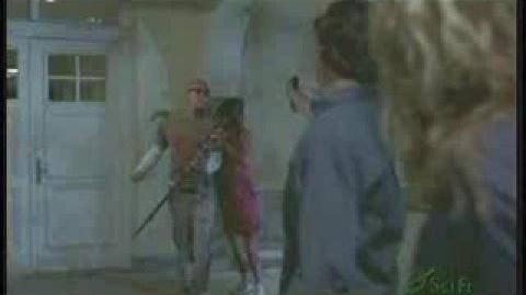 Re Yancy Butler Death Scene - shot