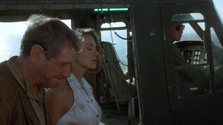 Michelle Rodham Huddleston (played by Brenda Bakke) Hot Shots 2 136