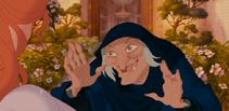 Queen Narissa hag disguise