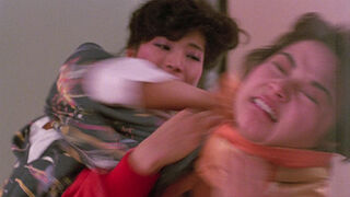 The Japanese Fighter in My Lucky Stars (played by Michiko Nishikawa) 91