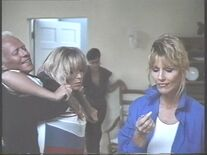Teri wants to get at Carla (Ashley Ferrare with Dar Robinson, Heather Thomas and Dawn Wildsmith) (Large)
