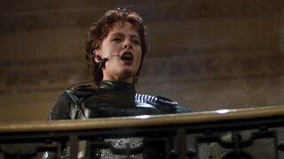 Jessica Priest in Spawn (played by Melinda Clarke) 85