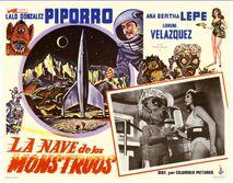 La nave de los monstruos-poster