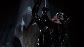 Selina Kyle-Catwoman (played by Michelle Pfeiffer) Batman Returns 131