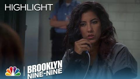 Brooklyn Nine-Nine - Rosa Distracts Lieutenant Hawkins (Episode Highlight)