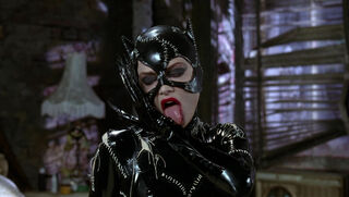 Selina Kyle-Catwoman (played by Michelle Pfeiffer) Batman Returns 92