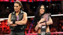 Tamina and AJ