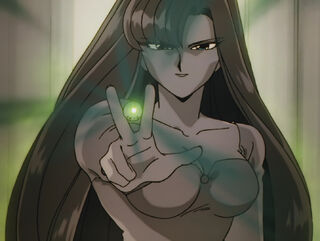 Hinako Ninomiya (voiced by Yumi Touma) Ranma 1-2 Oav 04 38